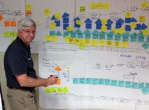 Steve Ebbing, Lean Six Sigma, Notes Board